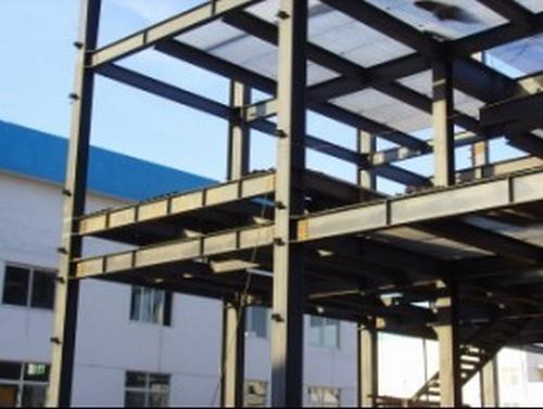 多层轻型钢结构的结构形式为多层多跨框